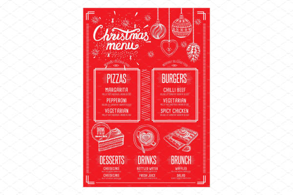 christmas cocktail party menu