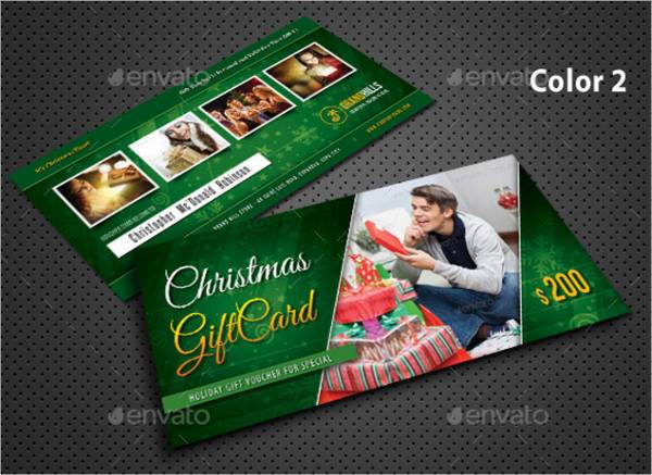 Christmas Holiday Gift Voucher
