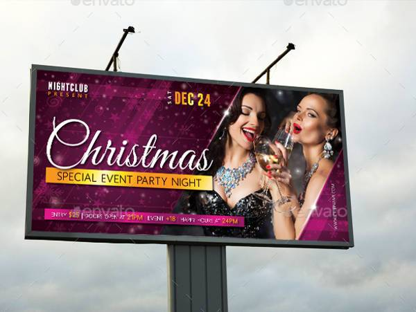 Christmas Party Outdoor Banner