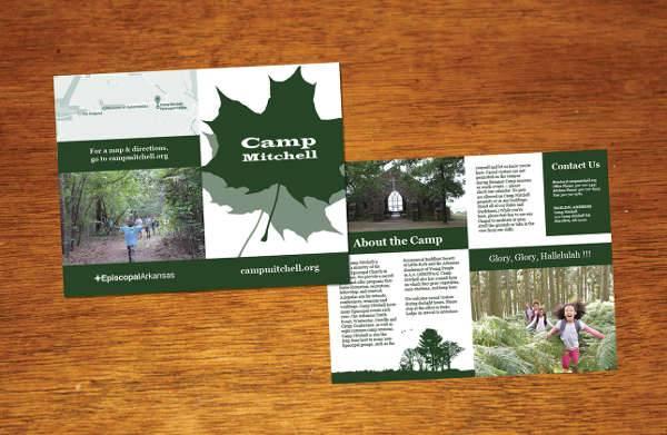 Church Camp Brochure