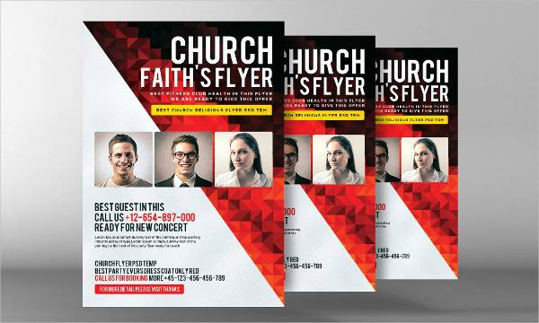 church invitation flyer