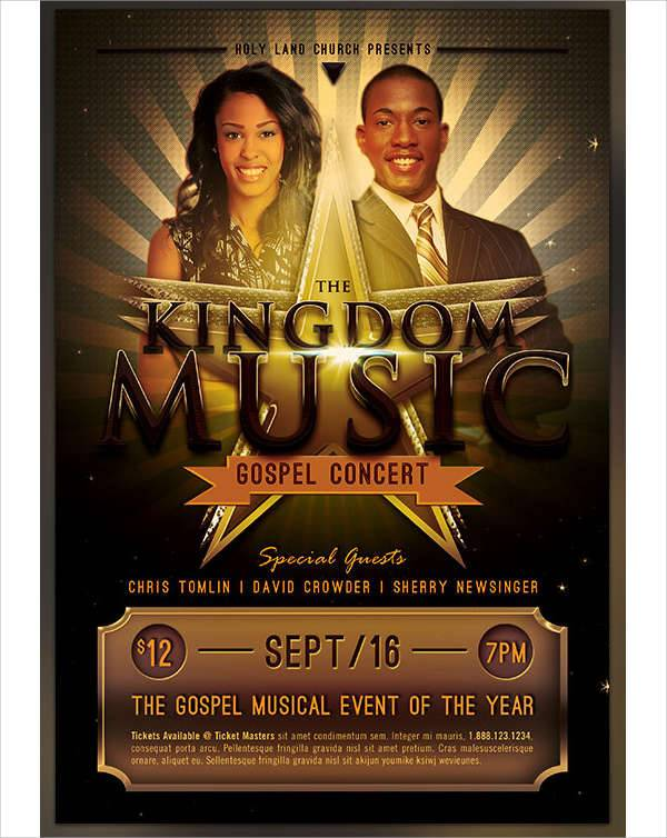 Church Music Concert Flyer