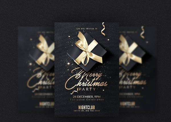 Classy Christmas Invitation Flyer