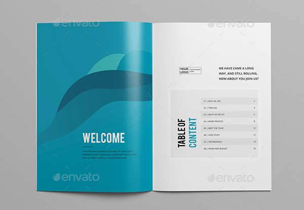 Clean & Modern Multipurpose Brochure
