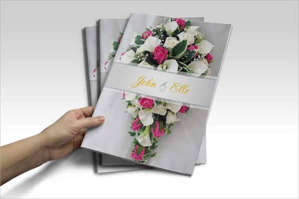 Clean Wedding Brochure