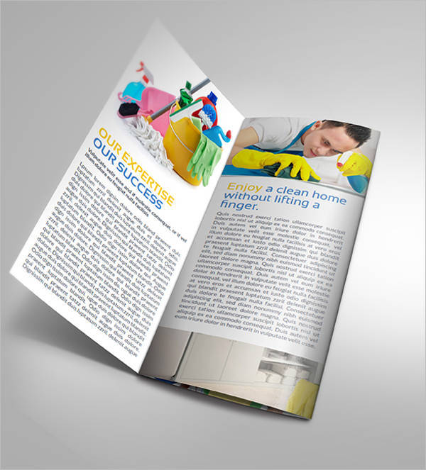 Cleaning Services Company TriFold Brochure