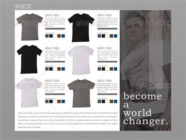 Clothing Apparel Tri-Fold Brochure