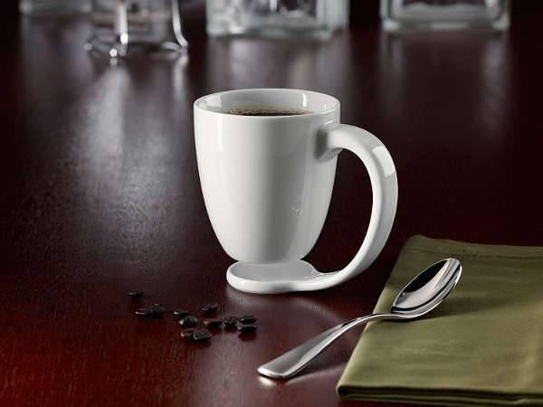 coffee mug with coaster