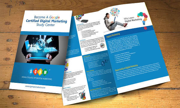 Collage Digital Marketing Brochure