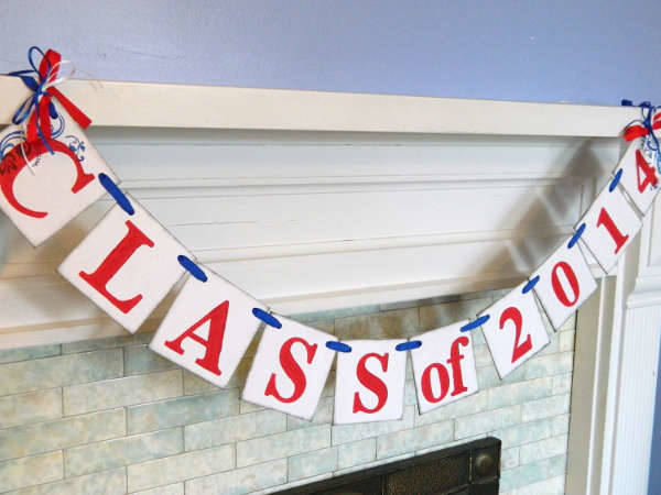 College Graduation Party Banner
