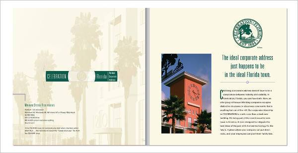 Commercial Real Estate Marketing Brochure