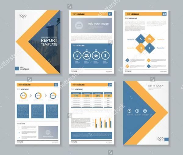 Company Profile Annual Report Brochure