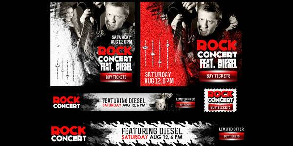 Concert & Event Banner