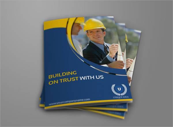 Construction Bi-fold Company Brochure