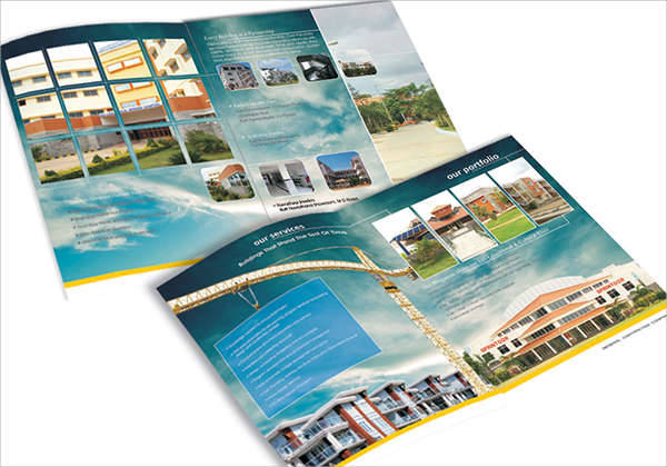 Construction Company Profile Brochure