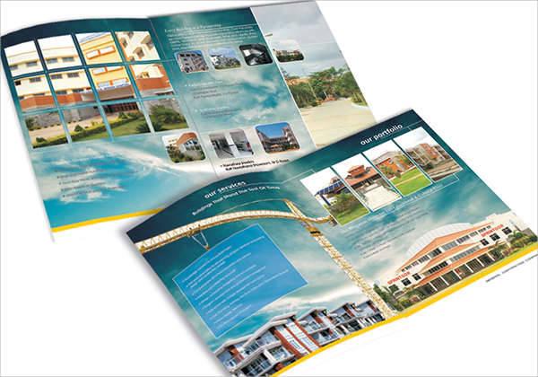 Construction Company Profile Brochure