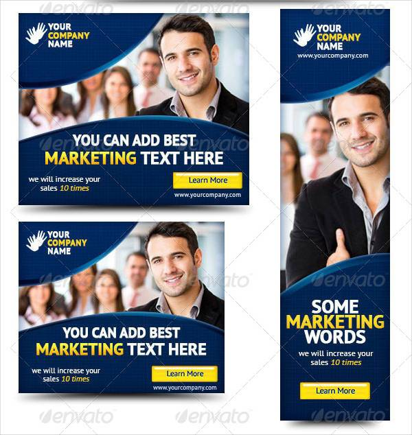 Corporate Banner Ads