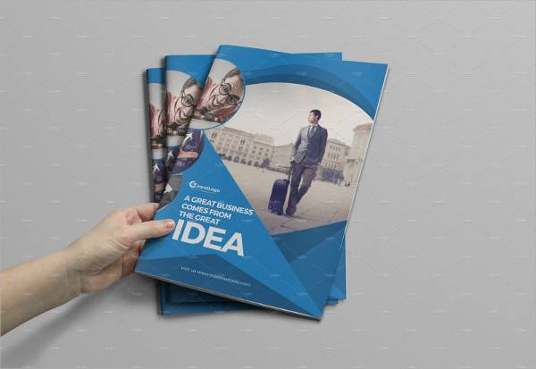 Corporate Bifold Business Brochure