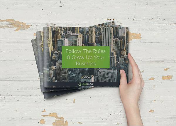 Corporate Business Landscape Brochure