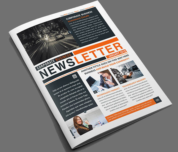 29  newspaper design templates