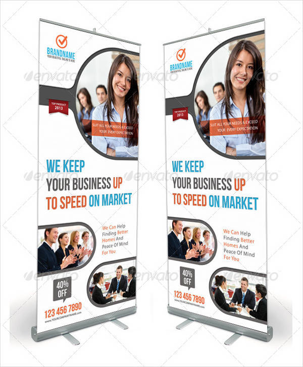 Corporate Product Banner Design Template