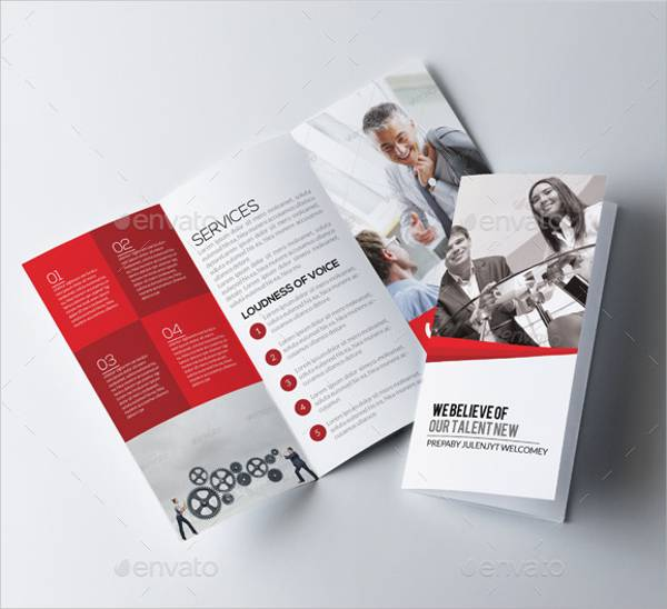 Corporate Tri-fold Business Brochure