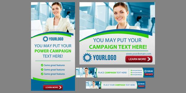 corporate web banner
