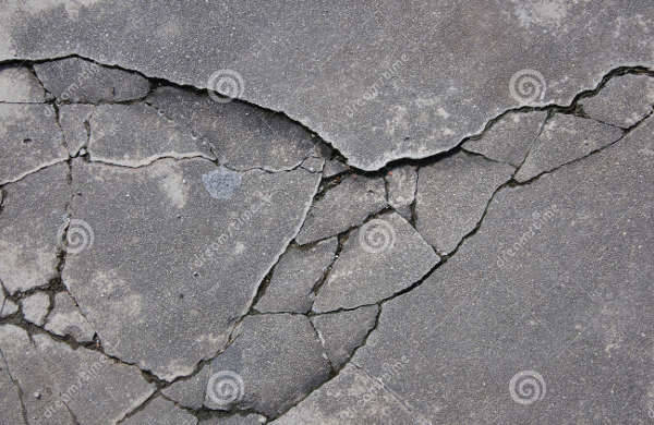 Cracked Rock Texture Design