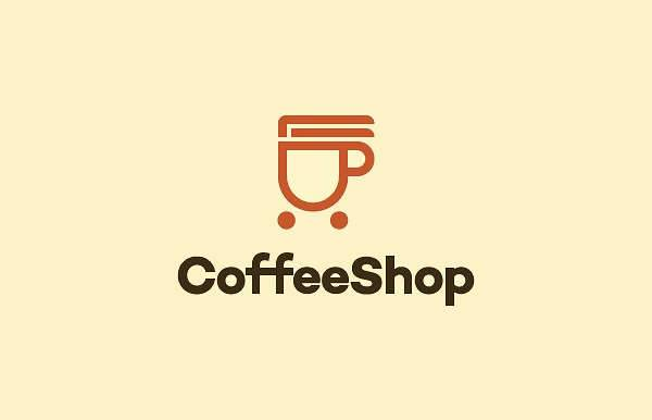 creative coffee logo design