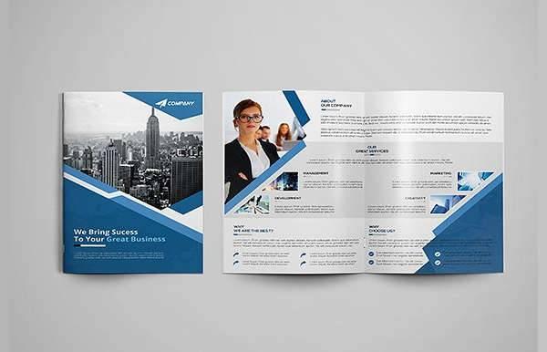 Creative Company Bifold Brochure