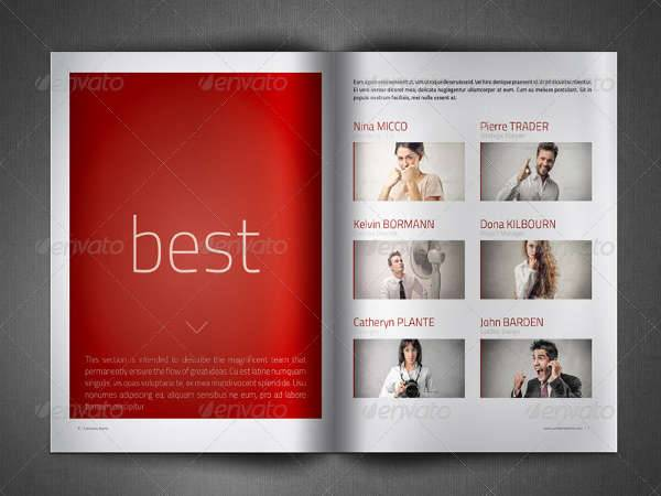 Creative Company Profile Brochure