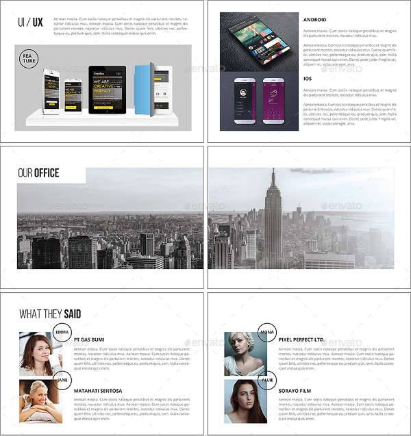 Creative Marketing Agency Brochure