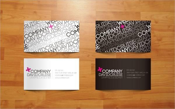 Creative Vector Business Card