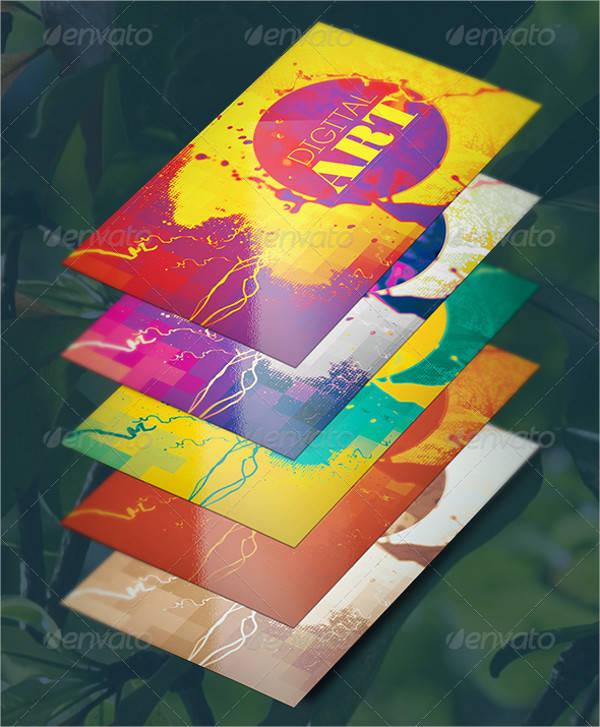 Digital Artist Business Card
