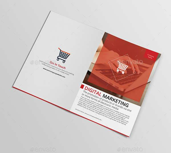 Digital Marketing Bifold Brochure