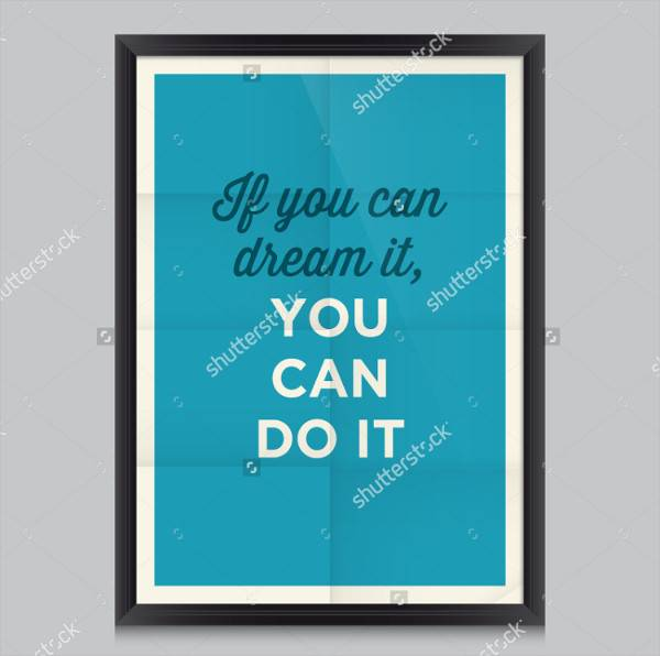 Disney Motivational Quote Poster