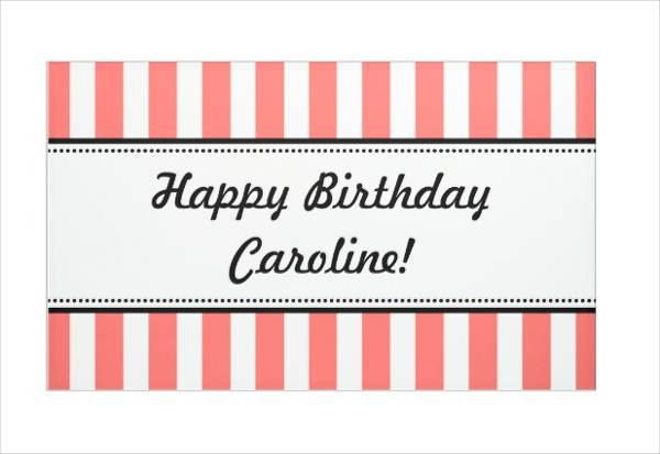 diy printable birthday banner