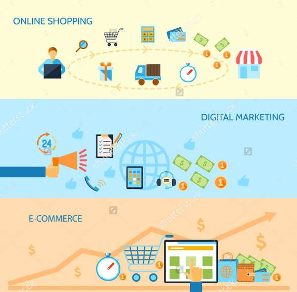 e commerce marketing banner