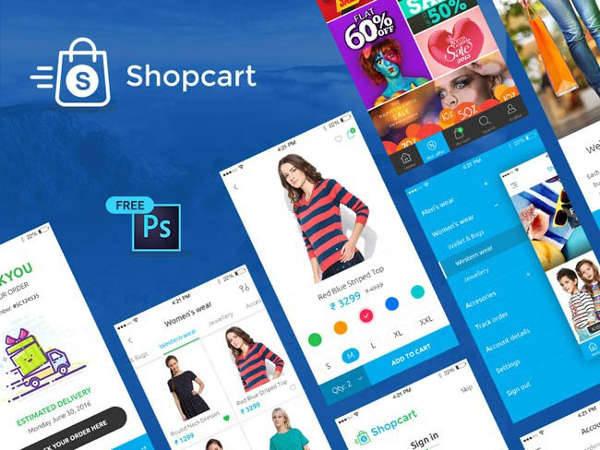 e commerce ui design kit