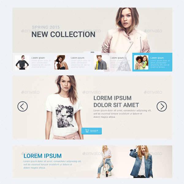 e commerce web elements ui design