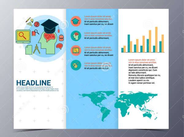 Educational School Trifold Brochure