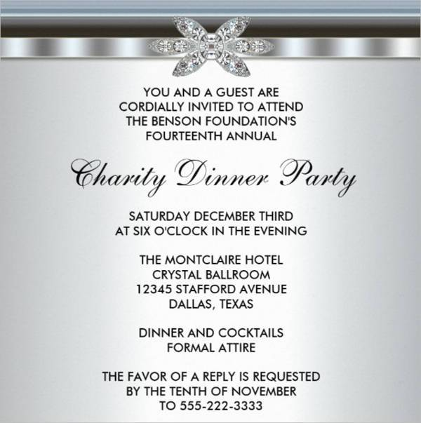 Elegant Corporate Event Invitation Card