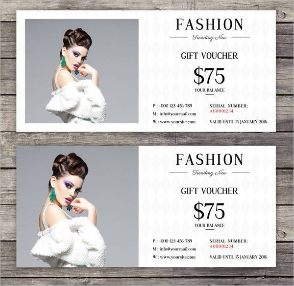 Elegant Fashion Voucher