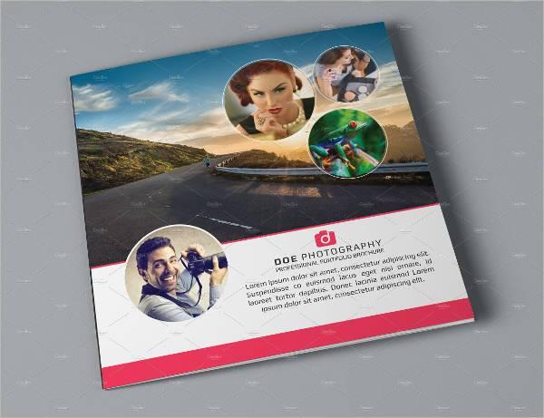 Elegant Tri-Fold Photography Brochure