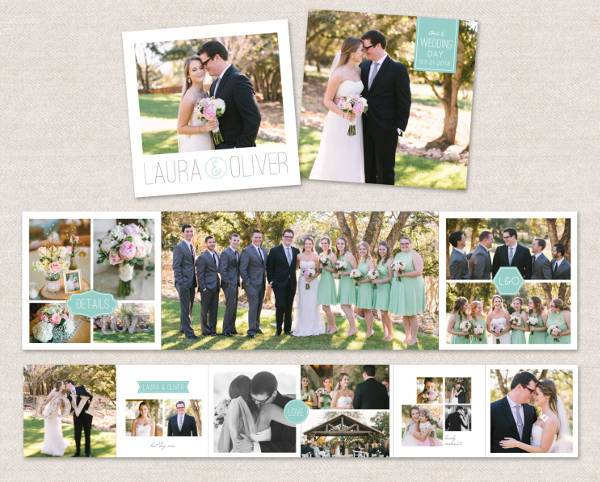 Elegant Wedding Album Template