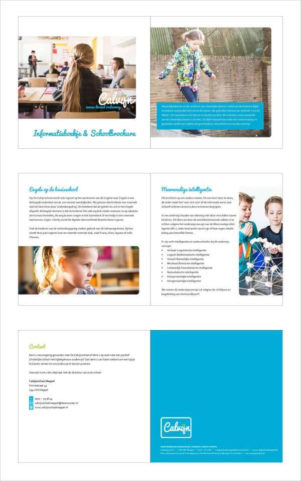 Elementary School Bifold Brochure