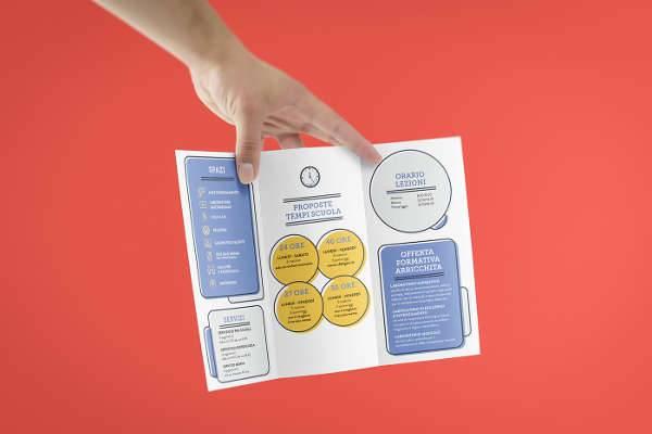Elementary School Simple Brochure