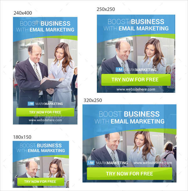 email marketing banner ads