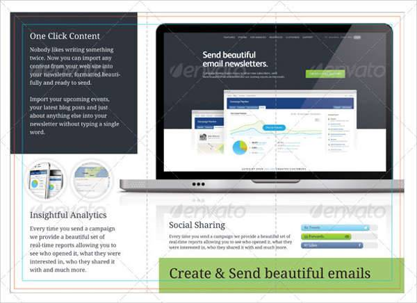 Email Marketing Brochure Template