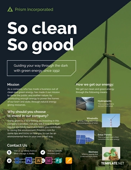 environmental flyer